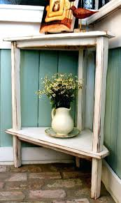 Foyer Entry Tables Accent Entry Table Beach Cottage Decor Rustic Home Wooden Corner