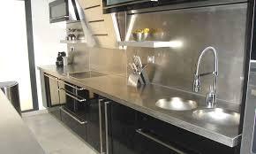 comptoir de cuisine sur mesure produits en inox et aluminium inoxyr inc inoxyr