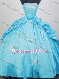 baby blue quinceanera dresses gorgeous baby blue strapless appliques and ups quinceanera