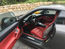 porsche macan red interior gts interior package with leather seats page 2 rennlist