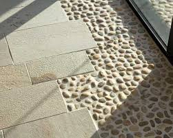 Decor Tile Flooring Design Ideas For Patio Decoration With Wooden by 309 Best Thresholds Transitions Images On Pinterest Homes