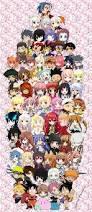 anime chibi chibi anime collage by scarletphoenix101 on deviantart