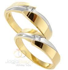 cincin lapis emas cincin kawin parla perak lapis emas kuning dan putih cincin