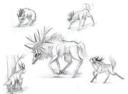 random sketches the endless forest