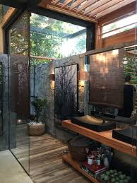 outdoor bathrooms ideas 25 best open bathroom ideas on concrete shower open