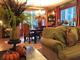 the tuscan home a peek around the autumn filled house beautiful