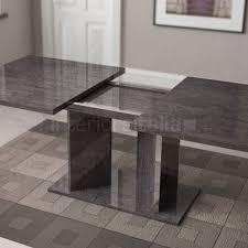 italian extendable dining table high gloss dining table extending sarah grey birch sale