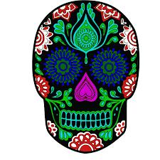 halloween background sugar skulls sugar skull png 2400 2400 sugar skulls pinterest