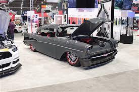 sema 2016 sema 2016 ironworks u0027 custom u002757 chevy is pure badass