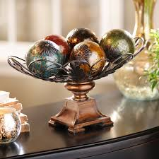 Decorative Spheres For Bowls Easy Diy Orb U0026 Bowl Table Decoration My Kirklands Blog
