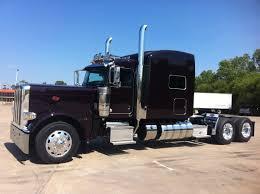2014 389 peterbilt black cherry 23 gauges 550 cummins 18 speed