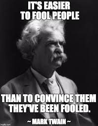 Mark Twain Memes - mark twain thought imgflip