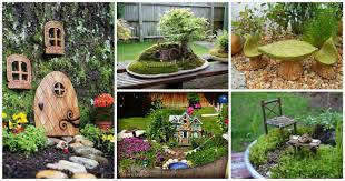 16 diy cute fairy garden and fairy garden furniture that will make