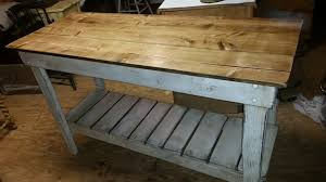 kitchen island work table distressed kitchen island beautiful distressed oak inch