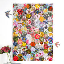 floral gift wrapping paper gardeners floral luxury gift wrapping paper by bombus
