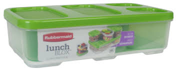 rubbermaid lunch blox 4 1 cups 1 0 ct walmart