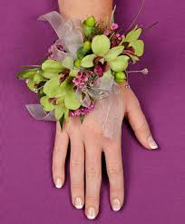 prom corsage prices glamorous green prom corsage in newark oh edward price