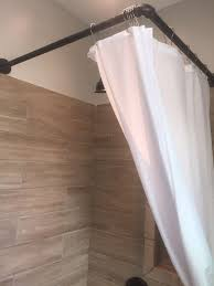 Portable Shower Curtain Rod Cheap 90皸 Shower Curtain Rod Ceilings Shower Curtain Rods And