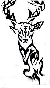 tribal deer head tattoos free download clip art free clip art