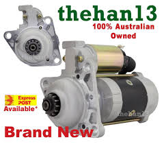 starter motor for mazda t3500 t4000 t4600 ford trader diesel
