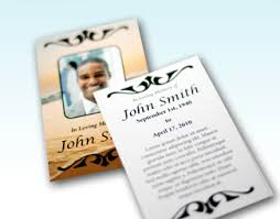 prayer cards for funerals fast funeral printing funeral programs prayer cards