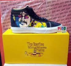 Jual Vans Beatles jual vans sk8 hi x beatles toko sepatu
