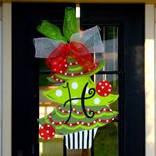 backyards door decoration christmas transparent