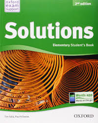 buy solutions elementary student u0027s book book online at low