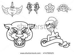 hand drawn japanese wave tattoo design stock vector 574661605