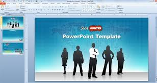 free free widescreen global leadership powerpoint template free