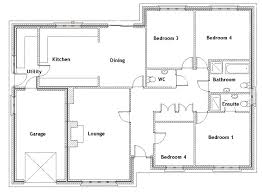 floor plan 3 bedroom bungalow plans 9 3 bedroom bungalow floor plans in nigeria