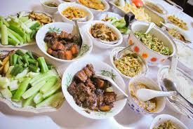 traditional cuisine of dishes your water in yangon burmatravel