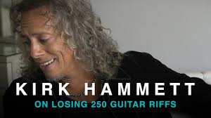 kirk hammett on losing 250 metallica riffs soundbites youtube