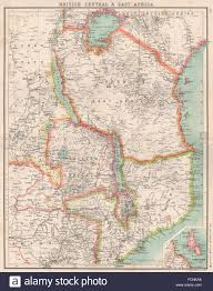 Map Of East Africa by East Africa British Central Africa German East Africa Malawi