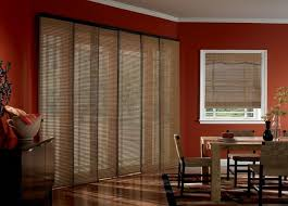 Mahogany Faux Wood Blinds Faux Wood Blinds Glass Window With Board Trim And Brown Faux Wood