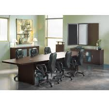 Boat Shaped Meeting Table Mayline Aberdeen Conference Table Boat Shaped 10 U0027 Actb10 Free