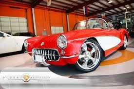 1957 chevrolet corvette convertible 1957 chevrolet corvette convertible auto 331 cui small block torch