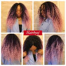 ombre crochet braids chest length curly ombre crochet braids hairbyoj
