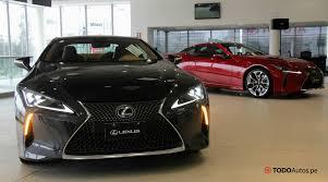lexus lc 500h precio lexus lc500h llegó a perú 5 detalles destacados del nuevo híbrido