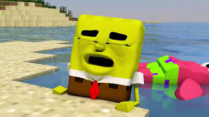 spongebob in minecraft 3 3d animation video dailymotion
