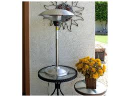 propane heaters patio table top propane heater glass tower stainless steel tabletop