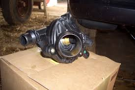 2006 bmw 325i thermostat replacement pictures electric water thermostat replace