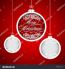 Christmas And New Year Christmas Decorations Snowflakes Vector by Merry Christmas New Year Snowflake Ball Stock Vector 218631028