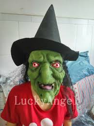 Aliexpress Com Buy Halloween Terror Latex Witch Mask Grudge