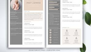 Vita Resume Template Templates Stock Illustration Cool Resume Cv Template Business