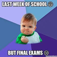 week of school