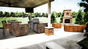 modern outdoor kitchen ideas rectangular aluminium double bowl modern outdoor kitchen ideas rectangular aluminium double bowl sink grey metal island range hood black varnished oak wood kitchen cabinet metal chrome