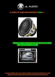 black friday car stereo sales rims u0026 tires high end car stereos u0026 alarms page 4
