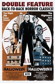 the horrors of halloween halloween double feature posters artwork