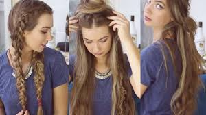 heatless hair styles cute hairstyles awesome cute easy heatless hairstyles for a